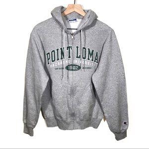 Vintage Champion Point Loma University Hoodie S